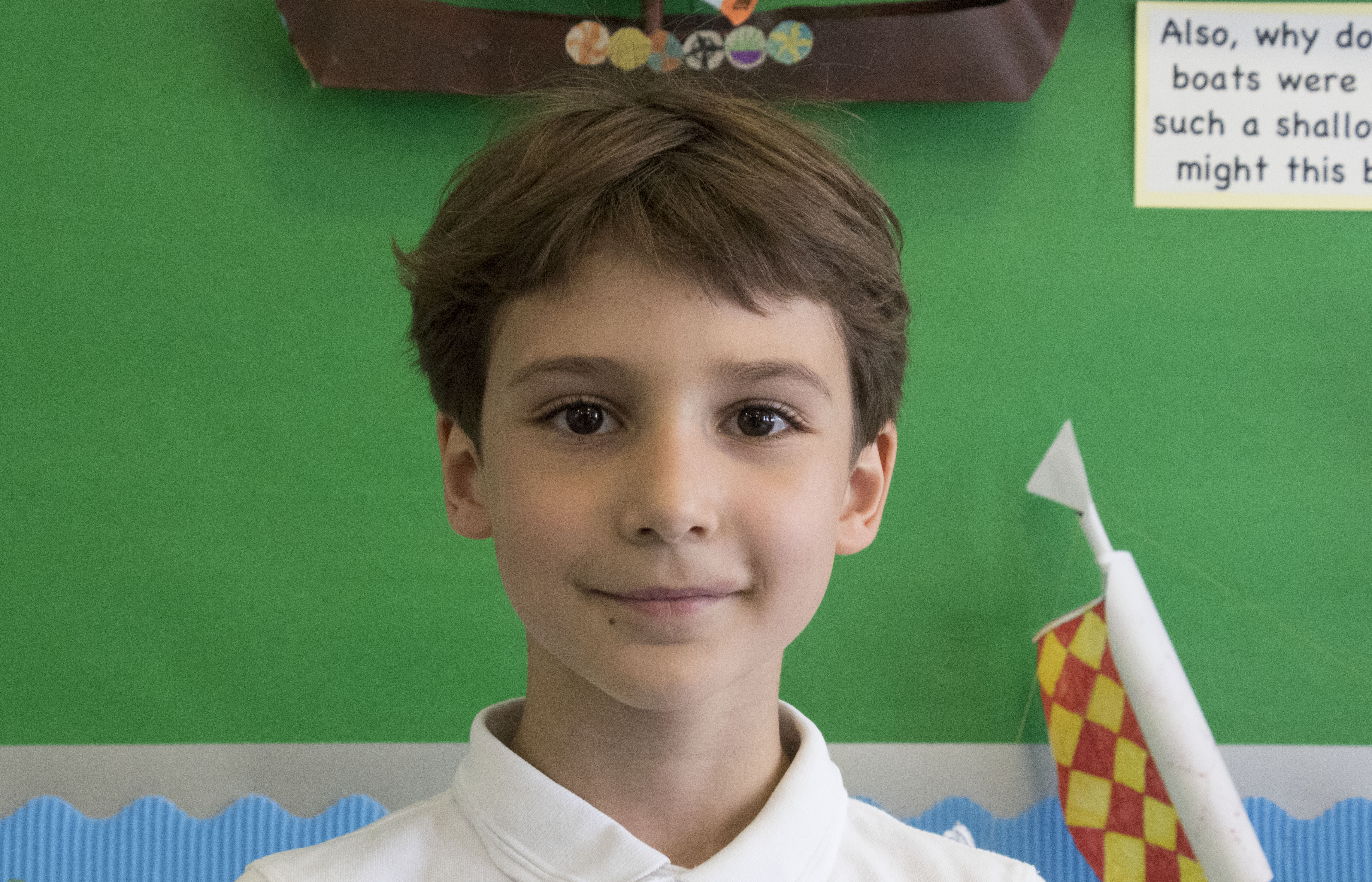 Luca, Aged 8