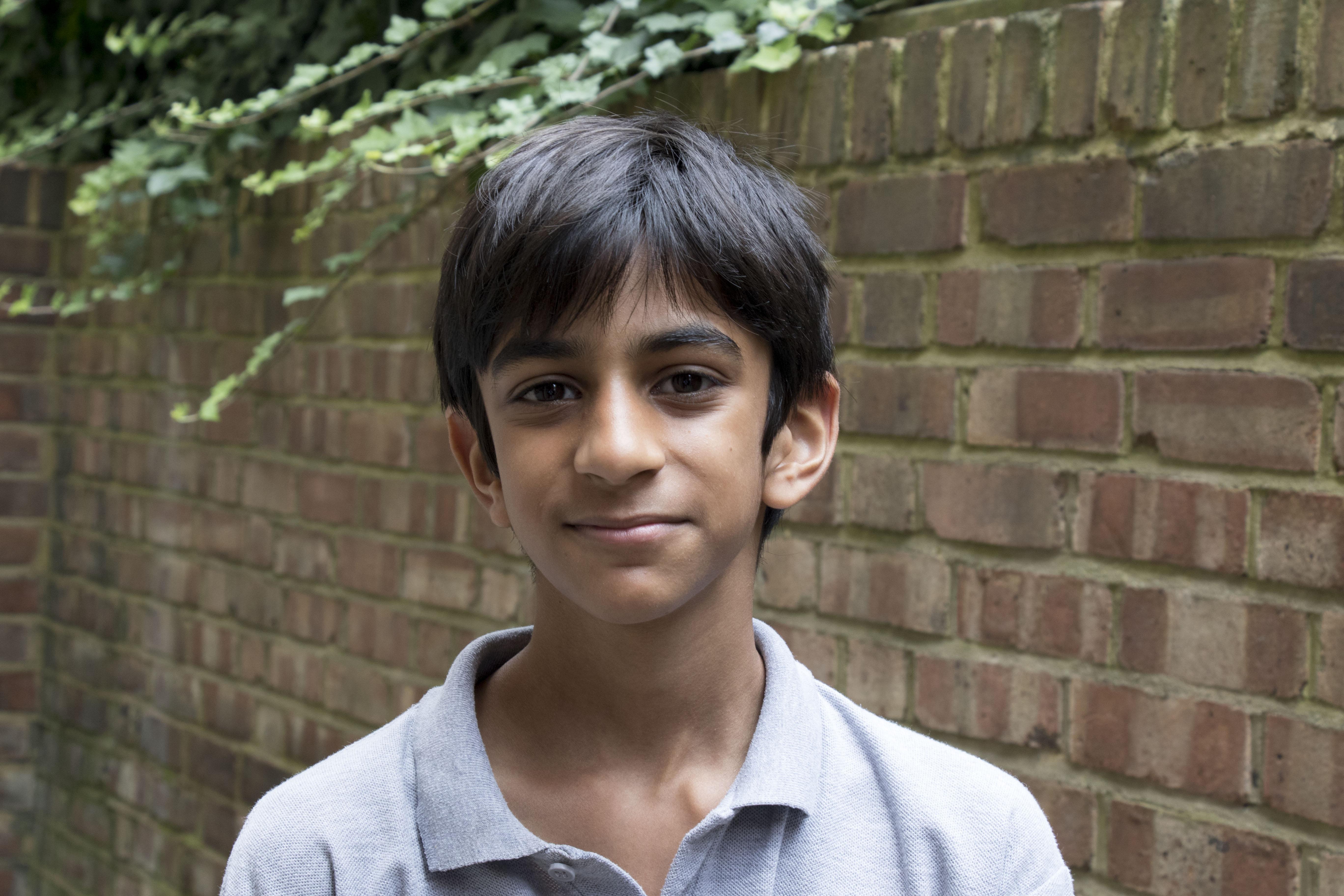 Vishal, Aged 12