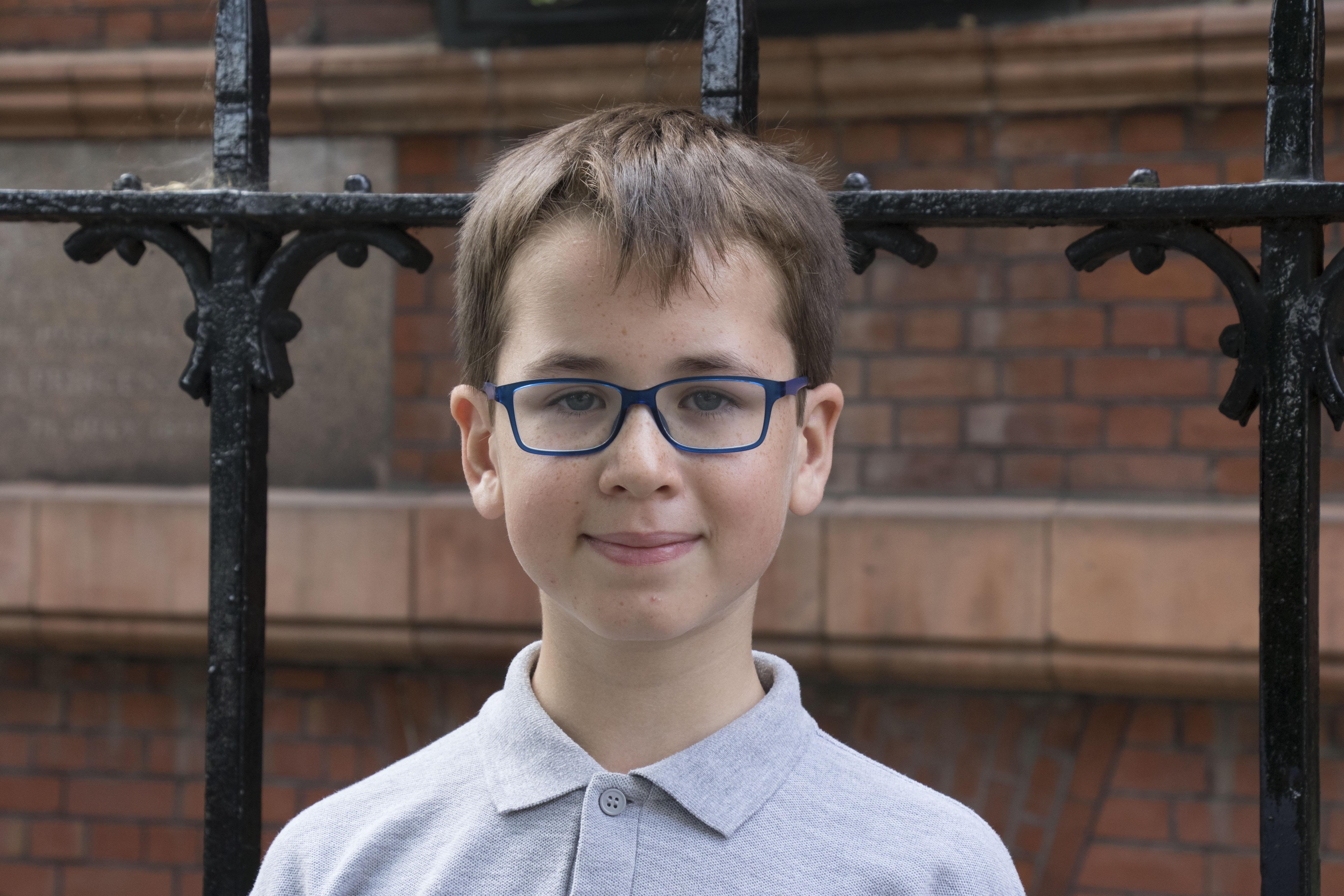 Chris, Aged 9